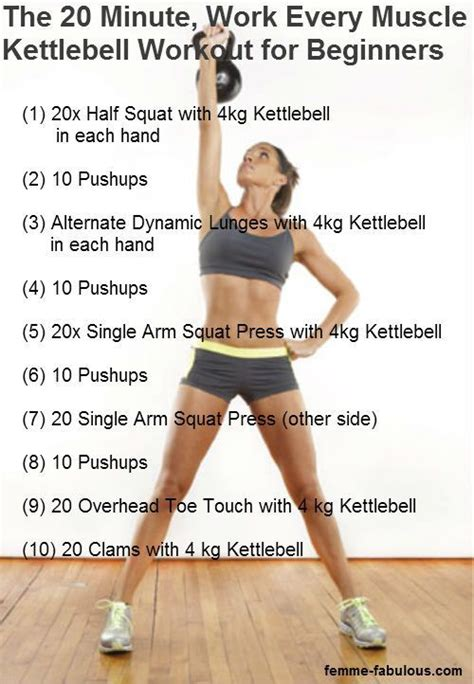 kettlebell workouts kettle workout exercises bell beginners kettlebells beginner minute body routines training cardio exercise ball every weight fitness plan