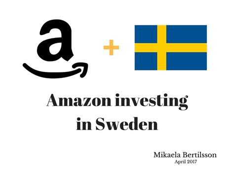amazon investing  sweden