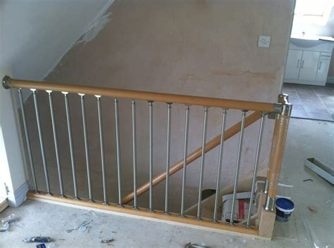 fusion banister fusion stair parts to loft conversion by attic designs ltd