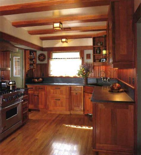Build Shallow Faux Beams Across The Kitchen Ceiling (paint