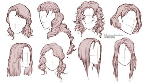 Hairstyles by Sellenin on DeviantArt