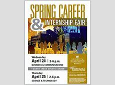 Spring Career & Internship Fair April 24 & 25