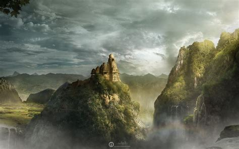 mountain kingdom hd creative  wallpapers images