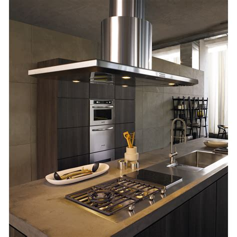 hotte de cuisine ilot hotte decorative