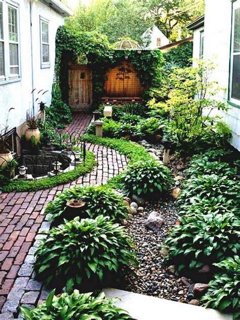 fabulous simple landscaping ideas cheap no grass garden