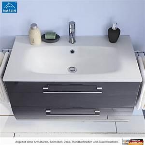 Waschtisch Mit Spiegelschrank 80 Cm : marlin badm bel als set azure mit spiegelschrank 80 cm impulsbad ~ Markanthonyermac.com Haus und Dekorationen