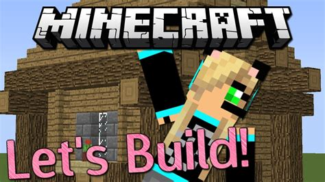 lets build cute minecraft village house youtube