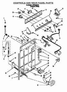 Whirlpool Super Capacity 465 Parts Diagram