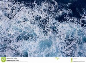 Waves And Foam Stock Photo - Image: 34832870