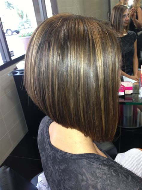 aline bob haircuts quot highlight a line bob haircut irvine best hair salon