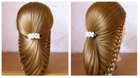 coiffure mariage invitée cheveux mi tuto tuto coiffure facile pour soir 233 e mariage f 234 tes