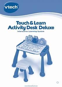 Vtech Touch  U0026 Learn Activity Desk Deluxe