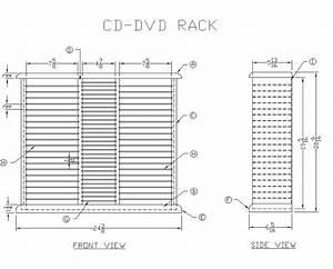 cd shelf plans » woodworktips