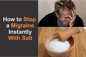 how to stop a migraine instantly