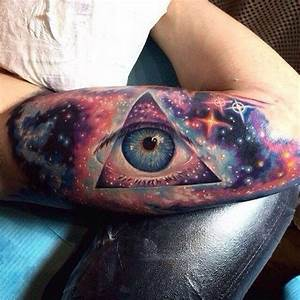 40 Space Tattoo Ideas | Art and Design