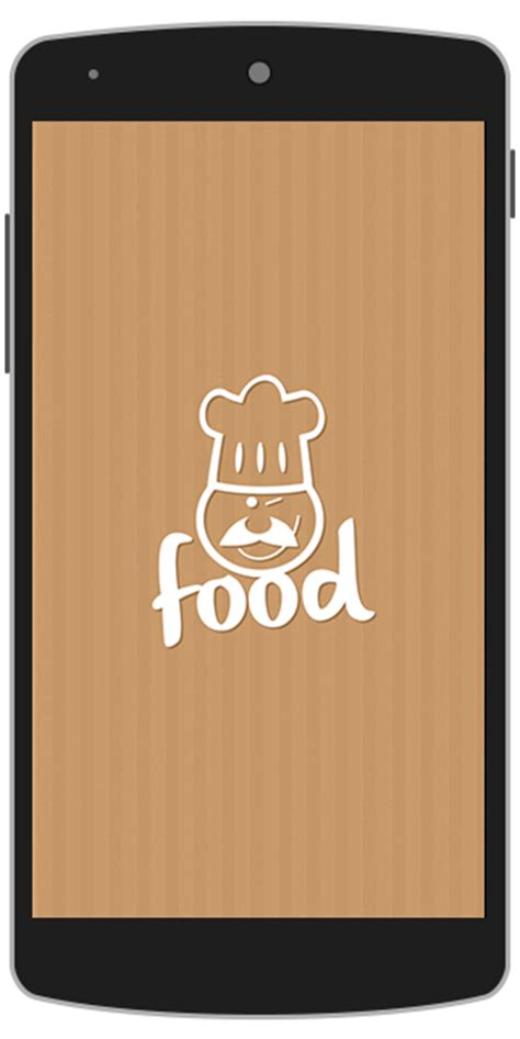 application cuisine android food android app template