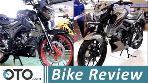 Review Suzuki Gsx 150 Bandit by Suzuki Gsx S150 Vs Gsx 150 Bandit Bike Review Ini 5