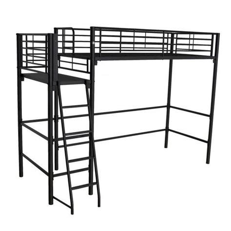 lit superposé avec bureau pas cher lit mezzanine avec clic clac lit mezzanine avec