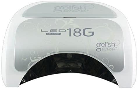 gelish led l gelish salon essentials led light 18g gelish beautil