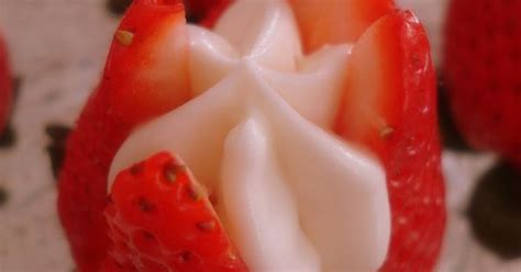 How To Cut Strawberries Fancy Apart The Strawberry