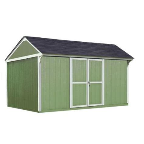 Home Depot Tuff Shed Promotion by Handy Home Products 12 Ft X 10 Ft Wood Storage