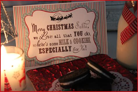 santa   note christmas eve  printable