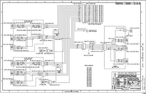 Freightliner Classic Ignition Switch Wiring Schematic by Freightliner Chassis Wiring Diagram Volovets Info