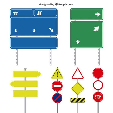 Download icon font or svg. Free Vector   Road signs