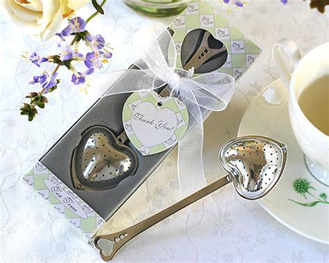Heart-shaped Tea Infuser Wedding Favors