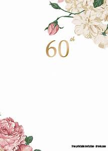 FREE Printable 60th Invitation Template - Latest Design ...