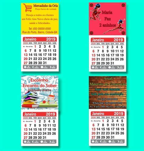 calendario personalizado elo rs artes