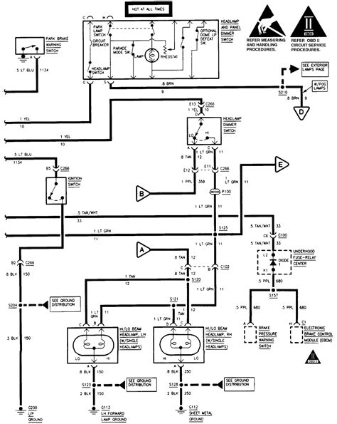 1997 Silverado Wiring Diagram by What Colors Are The And Ground Wires On The Headlights
