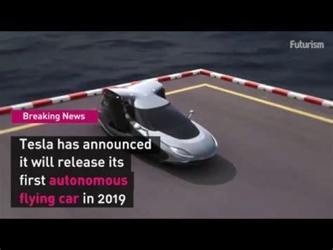 tesla announces flying car  model  youtube