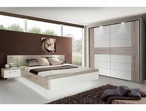 Schlafzimmer Weiß Hochglanz : schlafzimmer rubio 22 sandeiche wei hochglanz bett 2x nako schrank wohnbereiche schlafzimmer ~ Orissabook.com Haus und Dekorationen