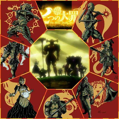 7 Deadly Sins Anime Wallpaper - seven deadly sins anime wallpaper search