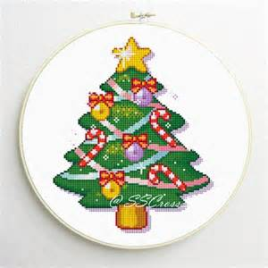 counted cross stitch pattern christmas tree pdf by simplesmart