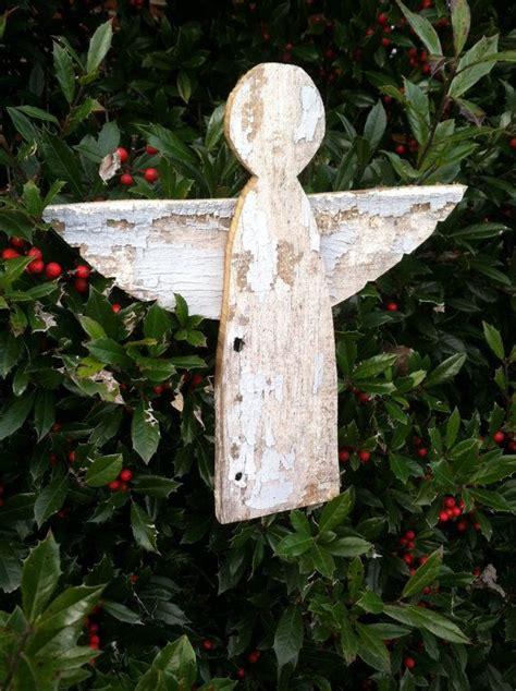 Reclaimed Barn Wood Wooden Angel Tree Topper