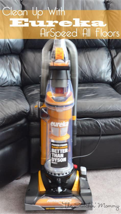 clean   eureka airspeed  floors  stitchin mommy