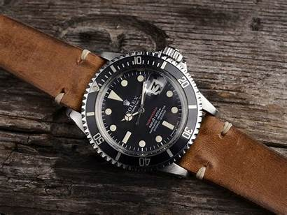 Rolex 1680 Submariner Curated 1970 Leather Strap