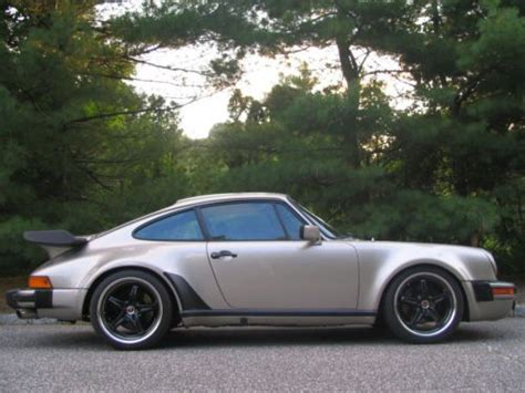 how to fix cars 1987 porsche 911 parking system sell used porsche turbo 930 dp 935 27k miles mint in jacksonville beach florida united states