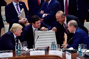 Donald Trump and Vladimir Putin meet at G20 meeting ...