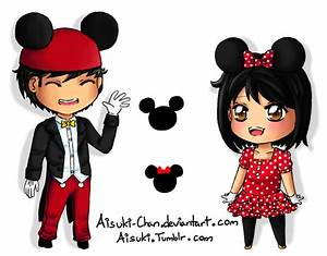 Mickey and Minnie Chibi by Aisuki-Chan on DeviantArt