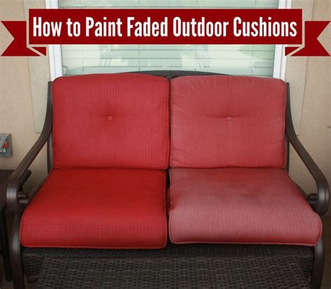 freshen  paint  outdoor cushions outdoor cushions patio cushions redo furniture