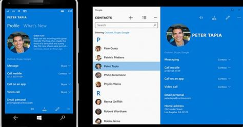 Microsoft People App For Windows 10 Gets A History Section