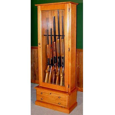 Gun Cabinets For Sale by Scout 406 Gun Cabinet Solid Oak 6 Gun Gs406 Oak