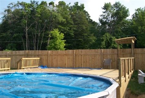 Outdoor Above Ground Pool Ideas