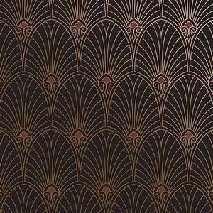 Art Deco Wallpaper and Borders By Bradbury & Bradbury