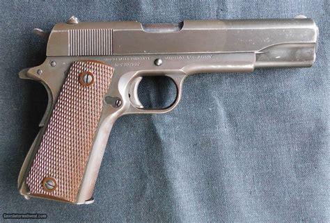 Colt 1911 A1 45 Ww2 Parco Lubrite Finish