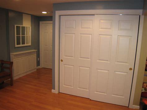 Interior Engaging Images Of White Sliding Closet Doors
