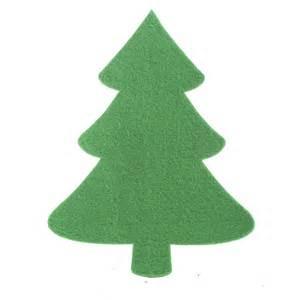 felties christmas tree cutout felt squares kids crafts craft supplies